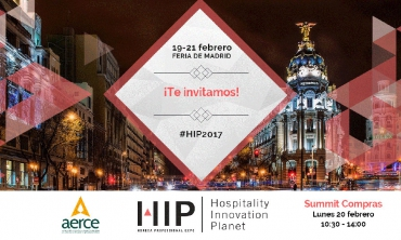 AERCE te invita a HIP, Hospitality Innovation Planet