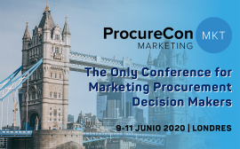 ProcureCon Marketing 2020 Londres. Código descuento para Asociados AERCE